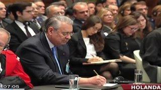 Holanda: Imágenes exclusivas del antes y después a la lectura del fallo de La Haya
