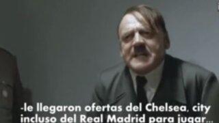VIDEO: iracunda reacción de Hitler al enterarse que Falcao no irá a Brasil 2014