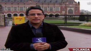 Delegación peruana en Holanda partió hacia Lima esta madrugada
