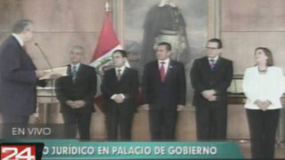 Presidente Humala recibió el fallo de La Haya de manos del agente Allan Wagner
