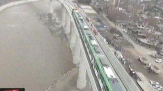 Tramo 2 de la Línea 1 del tren eléctrico ya se encuentra en fase de prueba