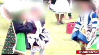 Huancayo: menores de edad beben cerveza en fiesta de bajada de reyes
