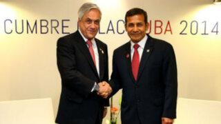 """Ollanta Humala y Sebastián Piñera cumplirán """"a la brevedad"""" fallo de La Haya"""