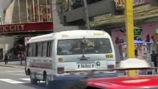 Avenidas Benavides y Angamos libres de combis a partir de julio