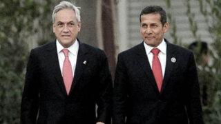 Cumbre de Celac reunió a Ollanta Humala y Sebastián Piñera tras fallo de La Haya