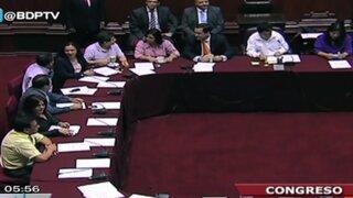 Comisión Permanente aprobó prorrogar permiso de Ollanta Humala