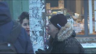 Broma pesada: joven pierde la lengua a causa del frío intenso en EEUU