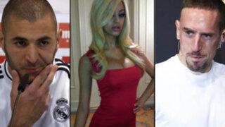 Francia: Ribéry y Benzema absueltos en caso de prostituta menor de edad