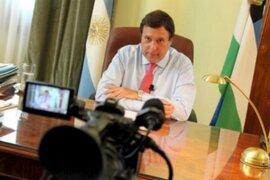 VIDEO: gobernador argentino despide a 170 funcionarios a través de YouTube