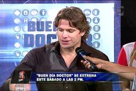 Paco Bazán: 'Buen día, doctor' promoverá la salud y la educación del público
