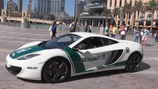 Dubai: Policía renueva parque automotor y estos son sus impresionantes patrulleros