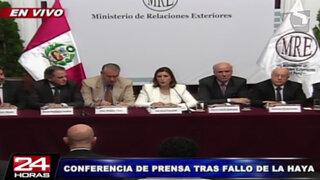 Condecorarán a canciller Eda Rivas y al equipo peruano ante La Haya