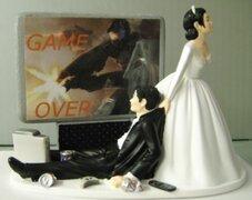Insólitas decoraciones de pasteles de boda que rompen con lo tradicional