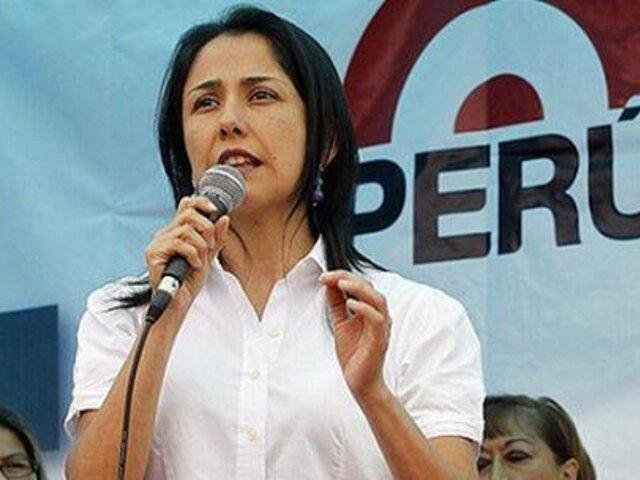 Gana Perú no respalda recurso que permitiría candidatura de Nadine Heredia