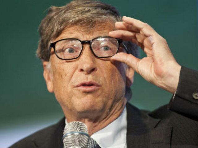 Bill Gates, la persona más admirada del mundo, según revista The Times