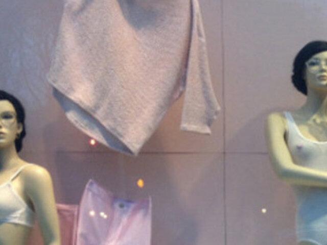 Maniquíes con vello púbico en tienda de lencería desatan polémica en EEUU