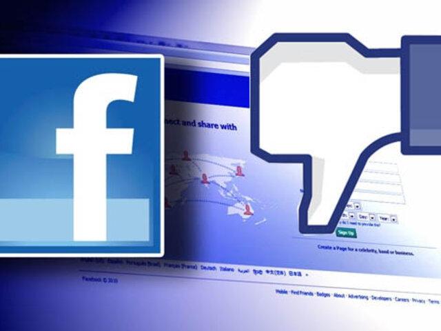 Chat de Facebook 'se cayó' por casi una hora y afectó a usuarios