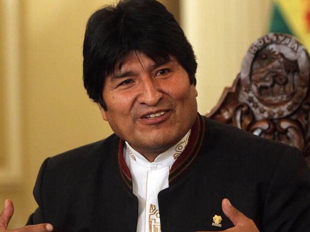 Evo Morales asistirá a la inauguración del Mundial de Brasil 2014