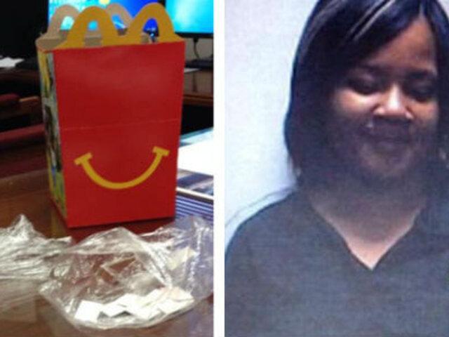 EEUU: empleada de McDonald's vendía 'cajitas felices' con heroína