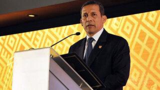 Ollanta Humala expuso fallo de La Haya ante el Pleno del Congreso