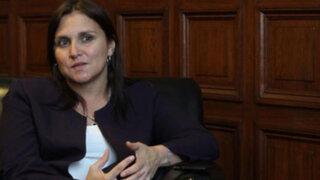 Diversas reacciones en el Congreso por permanencia de Canciller Eda Rivas