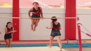 Deporte Joven: niñas se preparan para ser campeonas en gimnasia artística