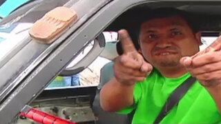 Infractores al volante: Choferes rompen reglas de tránsito y no temen penalidad