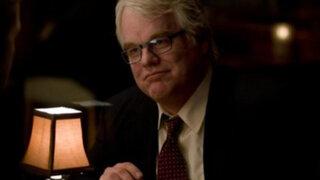 Actor estadounidense Philip Seymour Hoffman fue hallado muerto en su departamento
