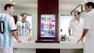 Lionel Messi se enfrenta a Roger Federer en divertido comercial