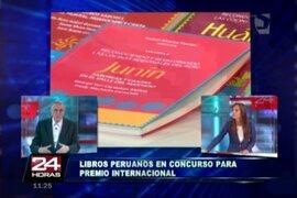 Libros peruanos compiten en final del mundial de gastronomía en China