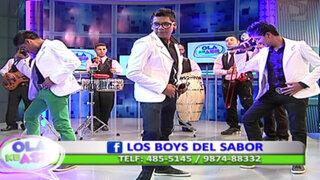 Los Boys del Sabor nos presentan su nuevo éxito 'Para ti bonita'