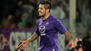 Juan Vargas fue inscrito por la Fiorentina para disputar la Europa League