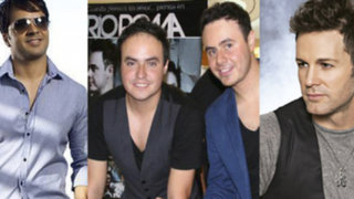 Luis Fonsi, Río Roma y Axel se unen para ofrecer romántico concierto en Lima