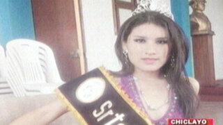 Reina de belleza murió ahogada tras caer a laguna en Lambayeque
