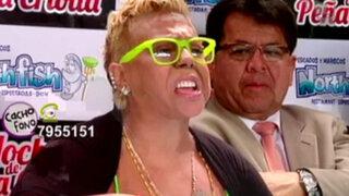Lucía de la Cruz salió en libertad y brindó conferencia de prensa
