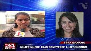 Mujer habría muerto por negligencia médica en clínica Morillas