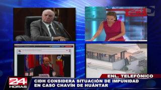 Luis Giampietri: CIDH está parcializada en Caso Chavín de Huántar