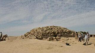 Egipto: descubren una pirámide más antigua que las 7 maravillas del mundo