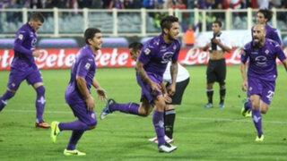 Con gol de Juan Vargas: Fiorentina cayó 2-1 ante Udinese en Copa Italia