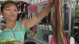 El increíble negocio de la compra y venta de cabello en Lima