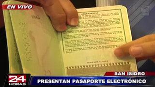 Conozca todos los detalles de la seguridad del nuevo pasaporte electrónico