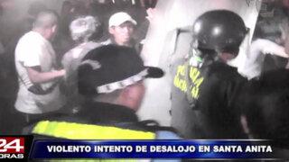 Intento de desalojo en cooperativa Andahuaylas terminó en trifulca