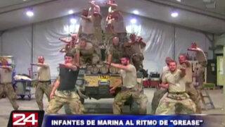 Afganistán: marinos suecos causan sensación tras parodiar musical 'Grease'