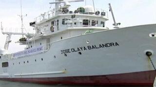 Barco de investigación 'José Olaya' ingresó a nueva zona marítima peruana