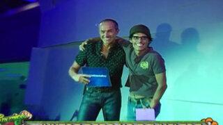 Carlos Alcántara y Pedro Suárez Vértiz se unen en evento de conocido banco