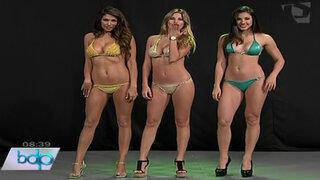 Guapas modelos muestran últimas tendencias en bikinis para este verano 2014