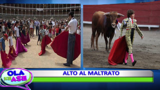 La ONU pide apartar a los niños de 'la violencia de la tauromaquia'