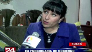 Exclusivo: ex funcionaria de Cusco se defendió tras difusión de polémico video