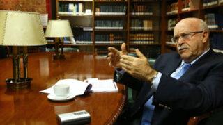 Eduardo Ferrero: Fallo de la corte de La Haya se está ejecutando sin demoras