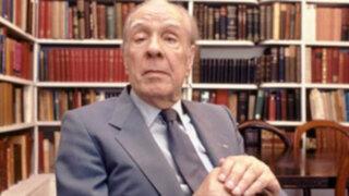 Casa de la Literatura ofrecerá conversatorio sobre libro de Jorge Luis Borges